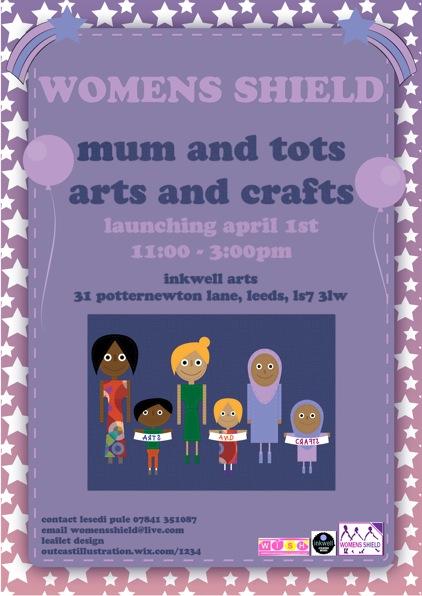 Womens Shield 1 April