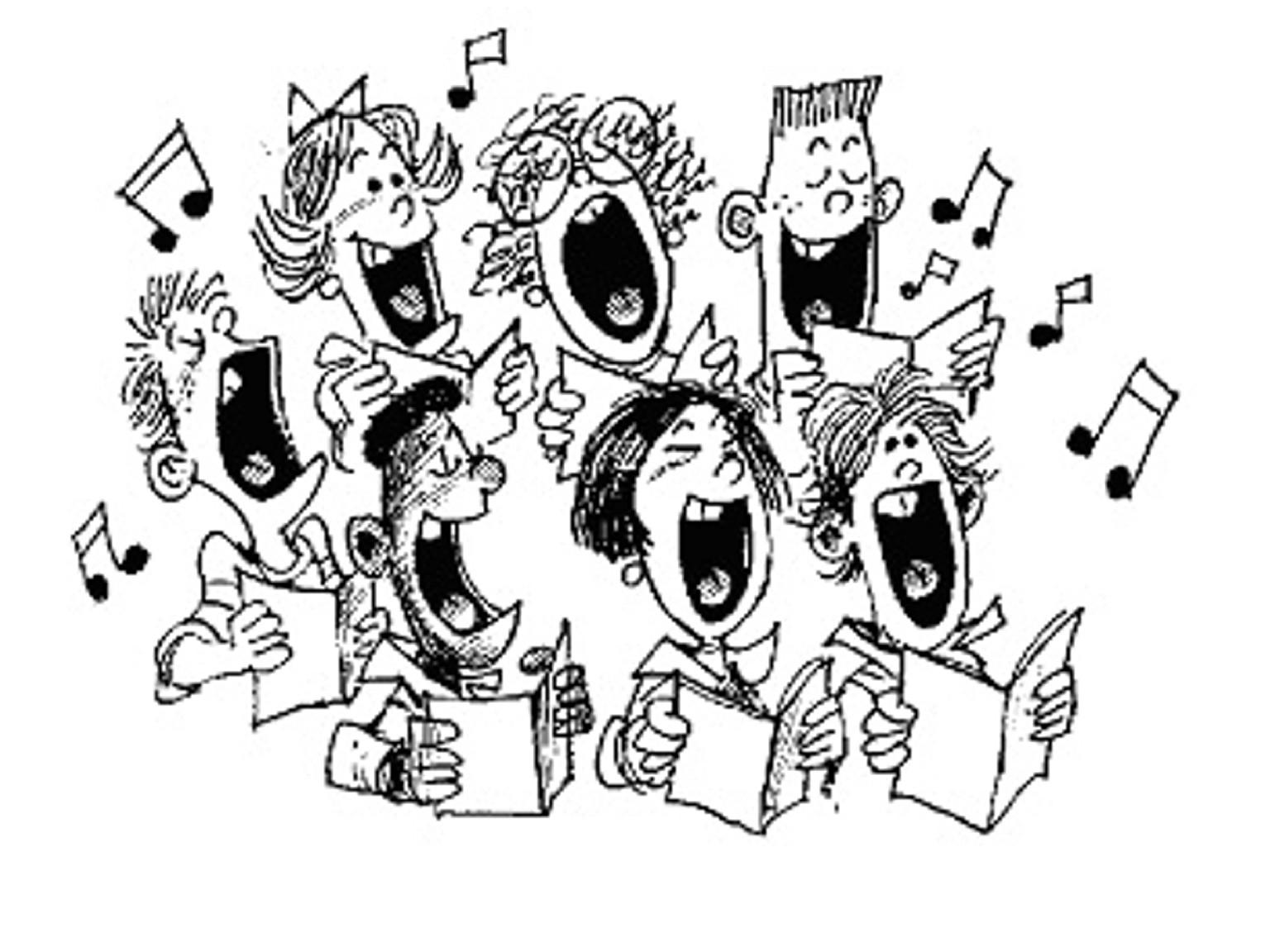 singing cartoon